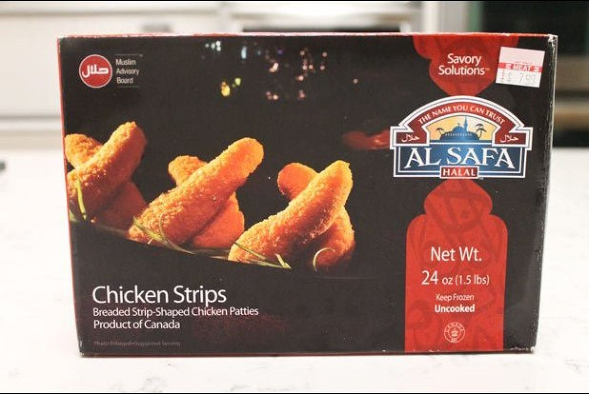 Far and away the least appetizing item we sampled, Al Safa's halal offering was grayish-brown, mushy, and had a prominent, we