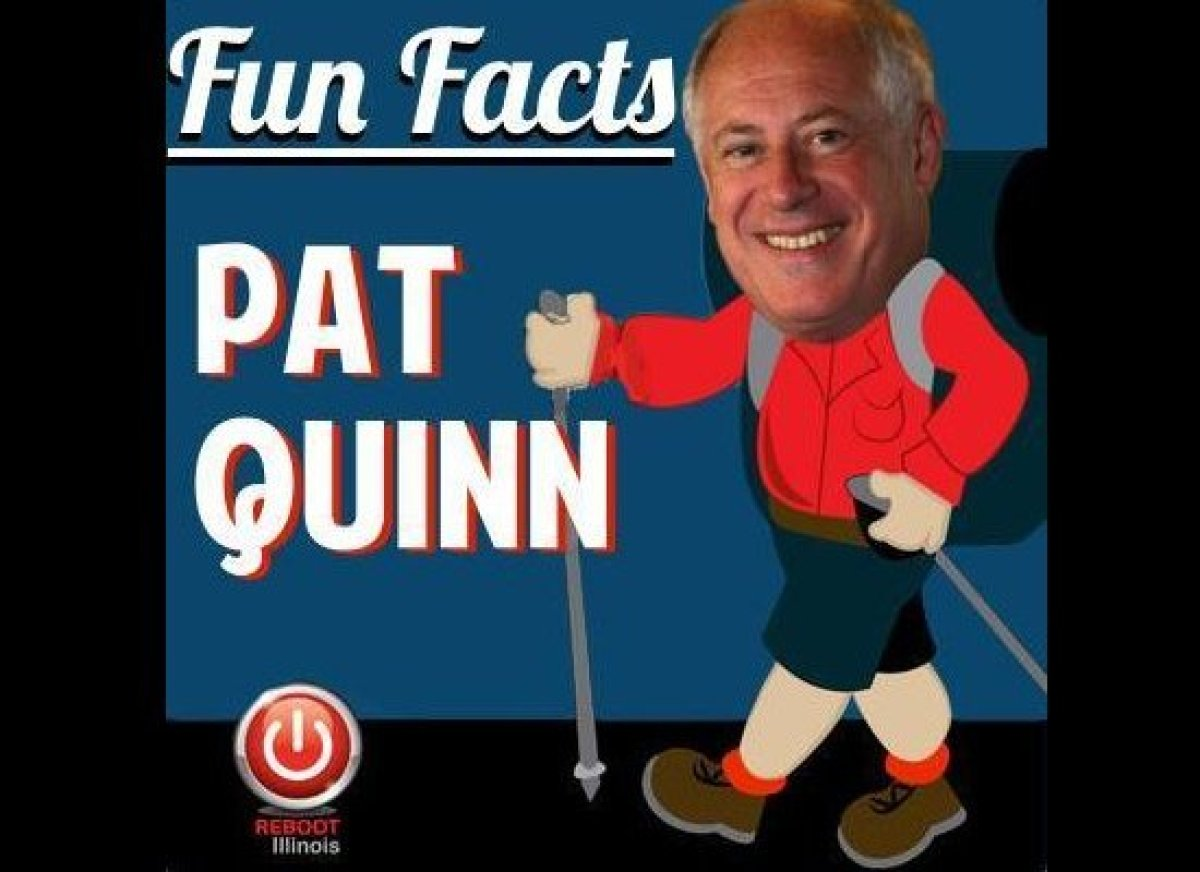 Which state did Pat Quinn walk across in 2001?