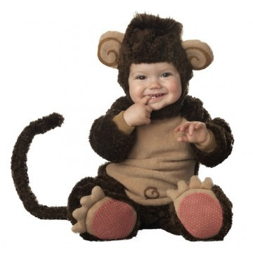 """<strong>Infant/Toddler Monkey Costume</strong>  $30.81   <a href=""""http://www.amazon.com/dp/B003AIL5SU?tag=amigi-20"""" target=""""_"""