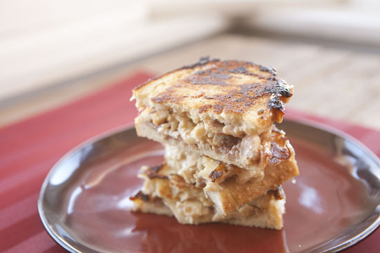 """<strong>Get the <a href=""""http://www.macheesmo.com/2013/03/chopped-chicken-raspberry-panini/"""" target=""""_blank"""">Chopped Chicken"""