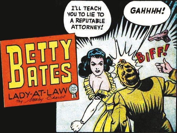 There were a number of daring career women in early comic books––reporters, photographers, pilots, even a tugboat captain The