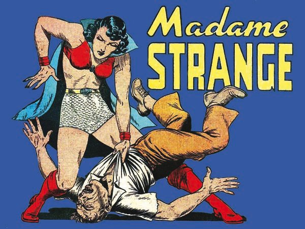 """When Madame Strange was described as """"mysterious, beautiful and cloaked with an unknown identity,"""" they weren't joking. All r"""