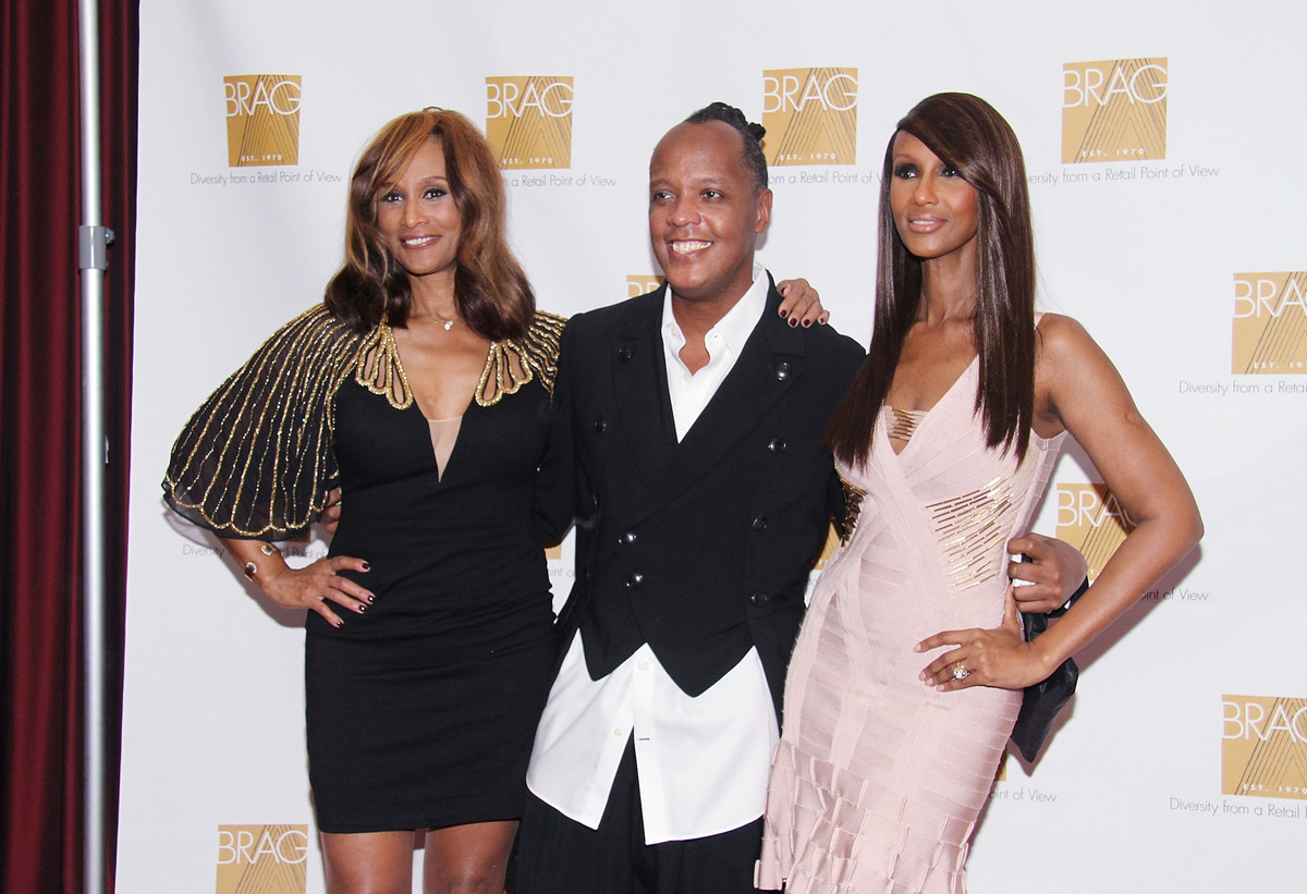NEW YORK, NY - OCTOBER 17: Beverly Johnson, Edward Wilkinson and Iman attend BRAG's 43rd Annual Scholarship and Awards Gala a