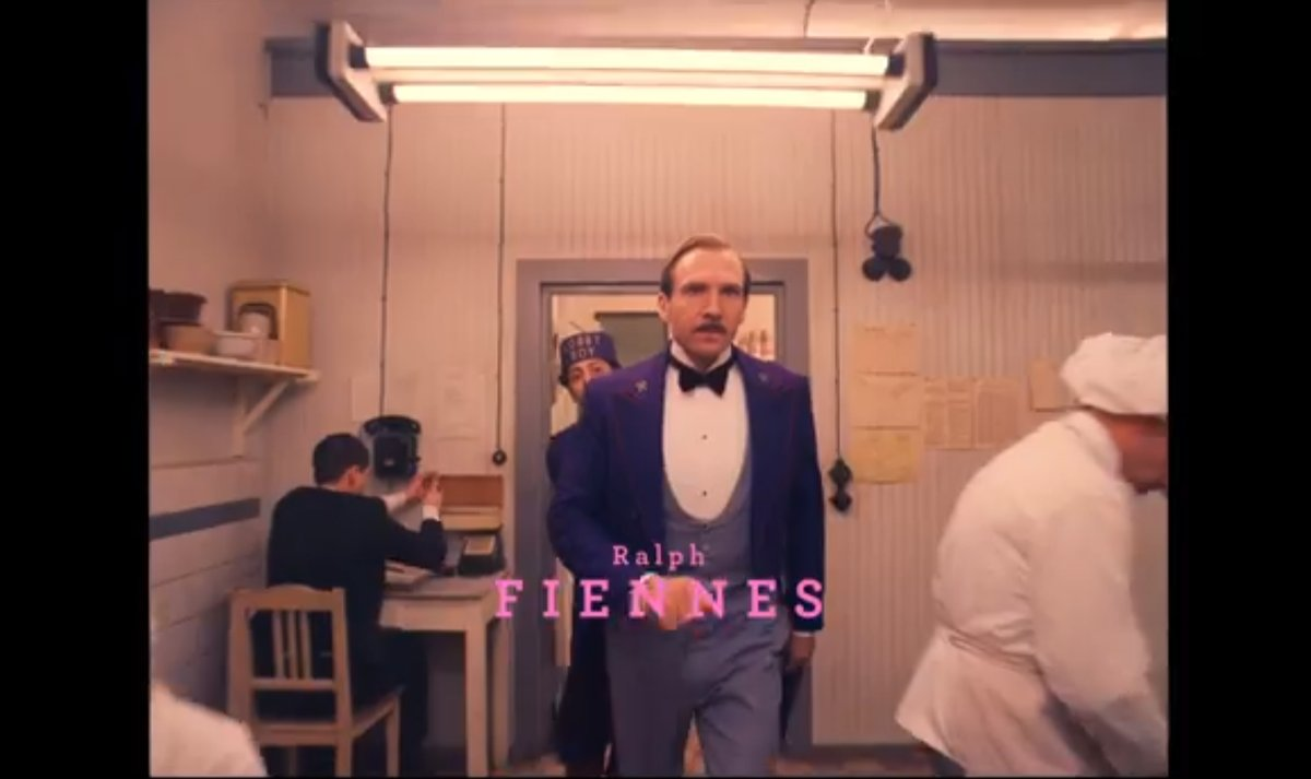"The stars of Wes Anderson's ""The Grand Budapest Hotel"""
