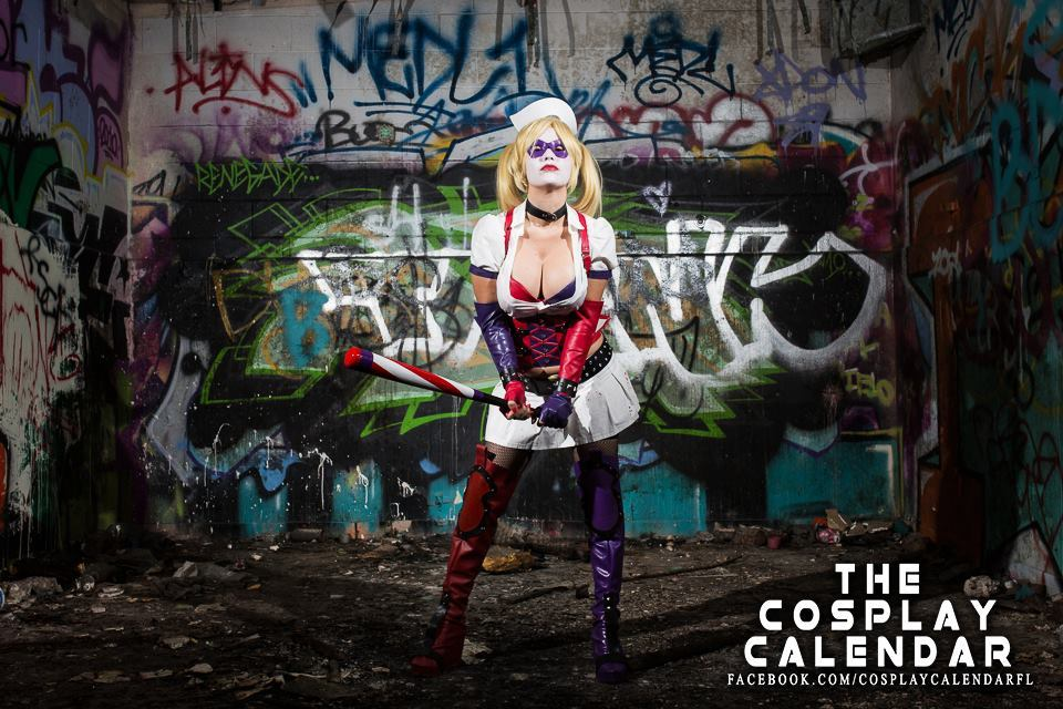 Miami's Danny Cozplay as Harley Quinn from Batman. Photography by Christopher Chin-Sang.