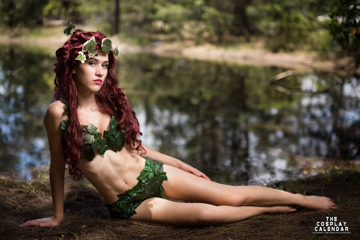 Svnine, of Miami, as Poison Ivy. Photography by Christopher Chin-Sang.