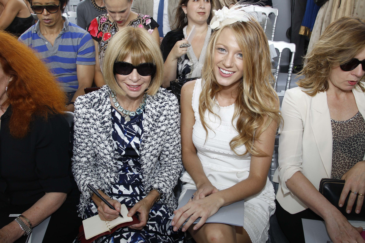 """The """"Gossip Girl"""" starlet is a favorite of the fashion set, including Karl Lagerfeld and Anna Wintour. So it was no surprise"""