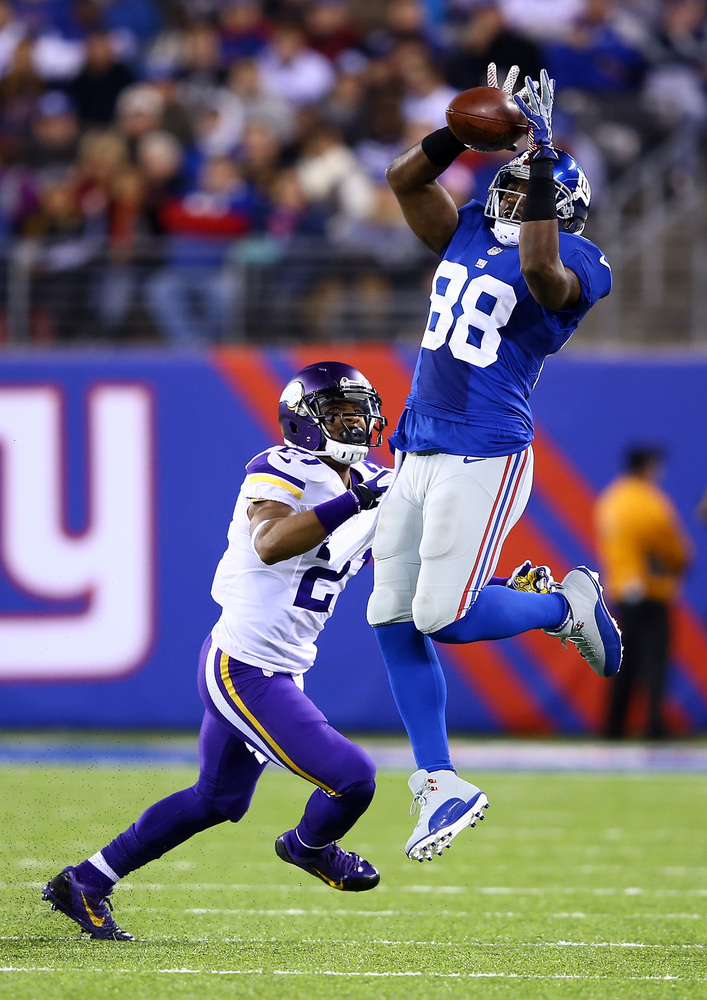 Nicks is in the final year of his contract. Alt-hough the Giants viewed him as their No. 1 receiver coming into the season an