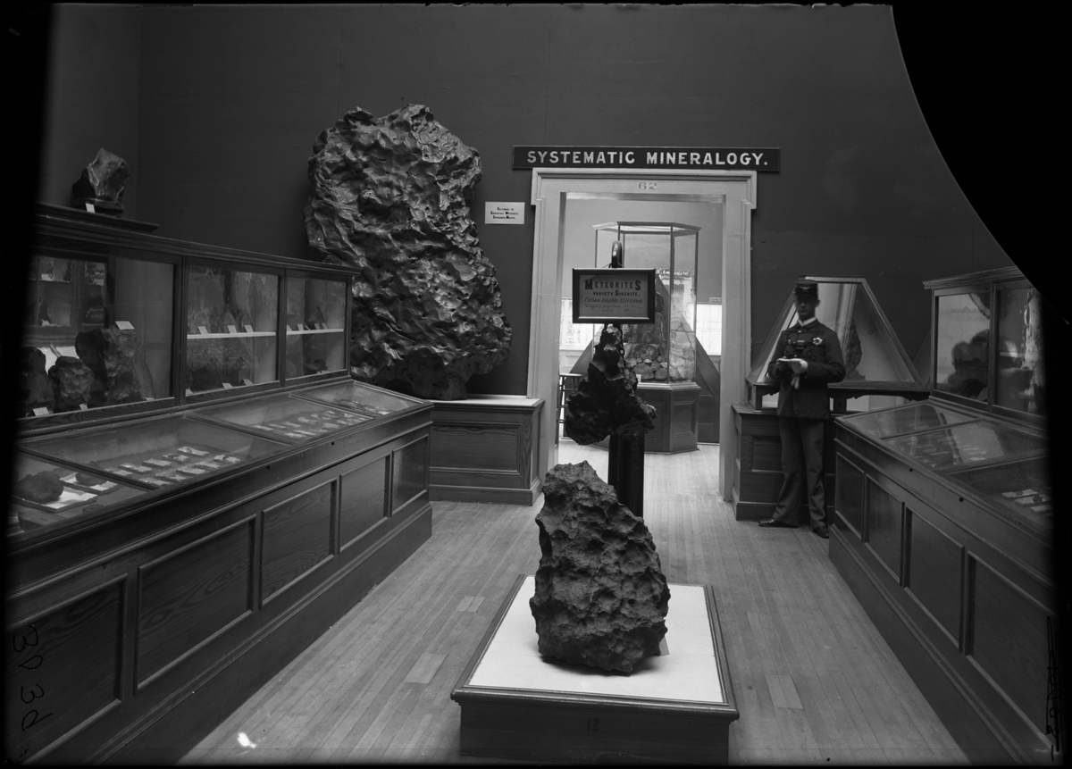 Large collections of meteorites were displayed at the fair. Many became part of the founding collections of the Field Columbi