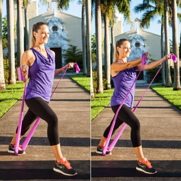 Fitness Bands You Can Swim With: A Total-Body Resistance Band Workout You Can Do Anywhere