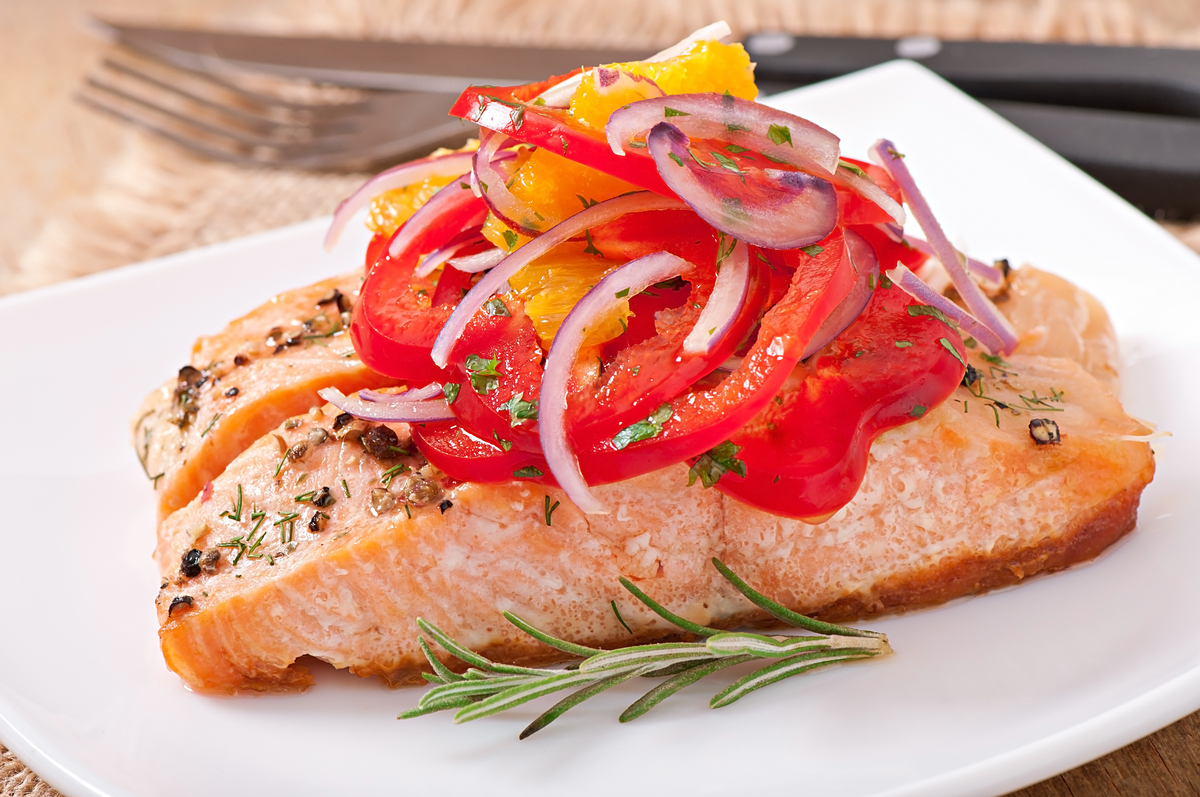 Here are those omega-3 fatty acids again! According to the American Heart Association, the omega-3s found in oily fish like s