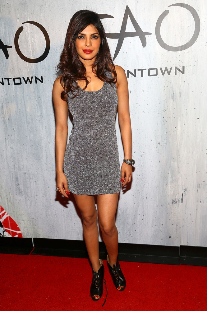 NEW YORK, NY - SEPTEMBER 28:  Actress Priyanka Chopra attends TAO Downtown Grand Opening on September 28, 2013 in New York Ci