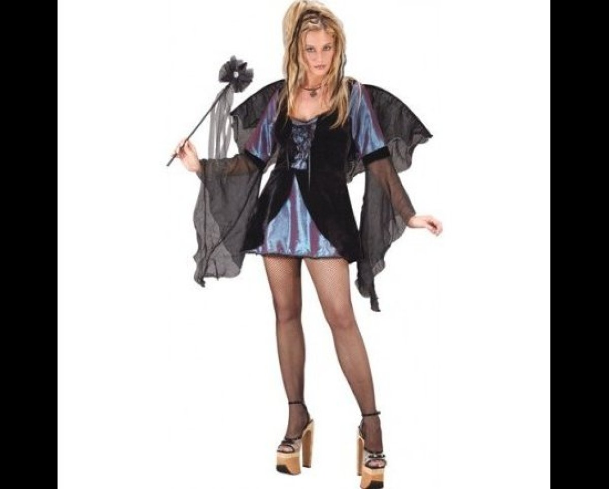 """Choose a costume that will elicit compliments, like this <a href=""""http://www.rickyshalloween.com/sweet-sexy-fairy-sml-med.htm"""