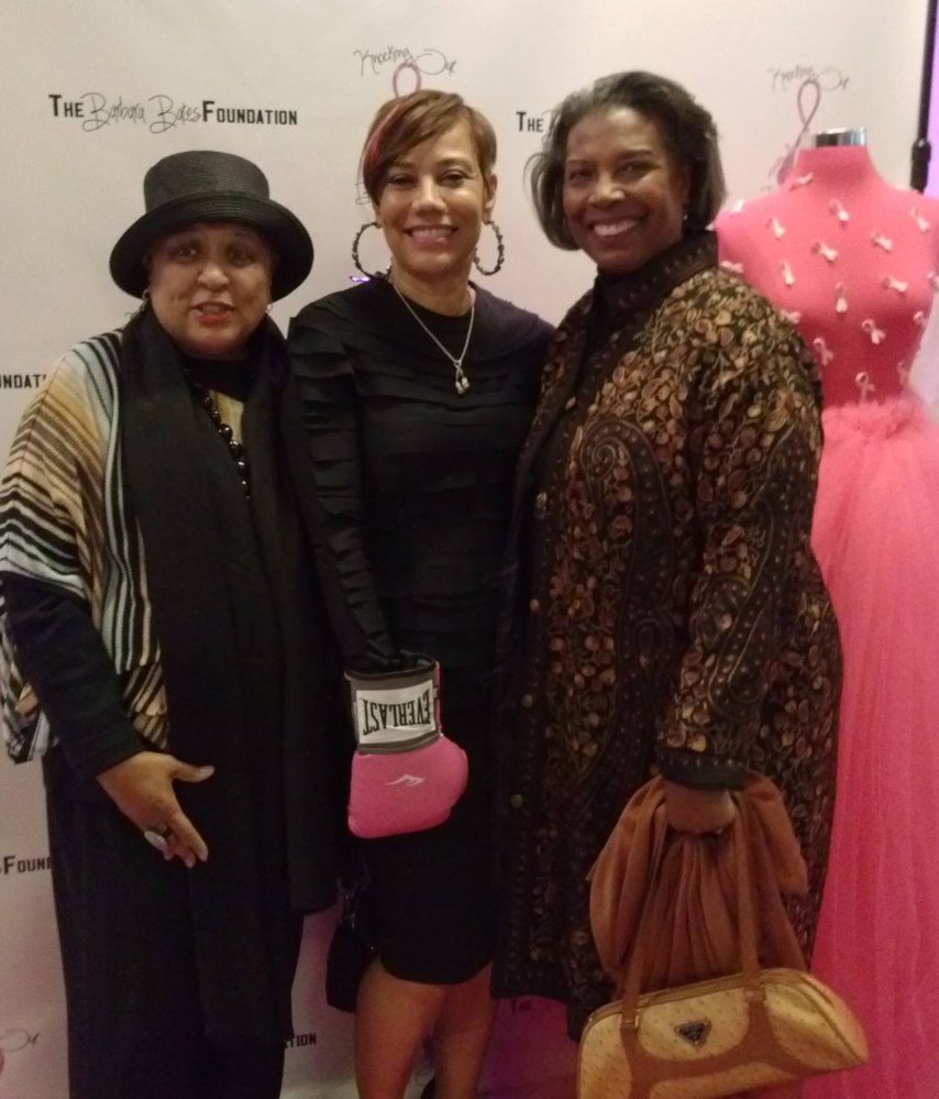 """We love to support fellow breast cancer survivors.  Thanks to <a href=""""http://www.barbarabatesfoundation.org/about-barbara-ba"""
