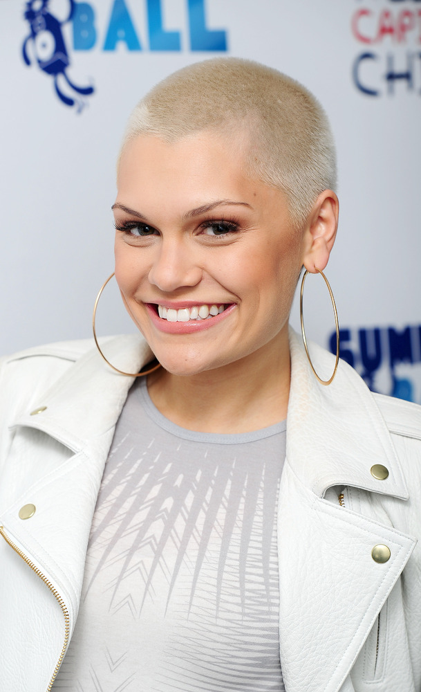 Jessie J backstage at the Capital FM Summertime Ball at Wembley in London.