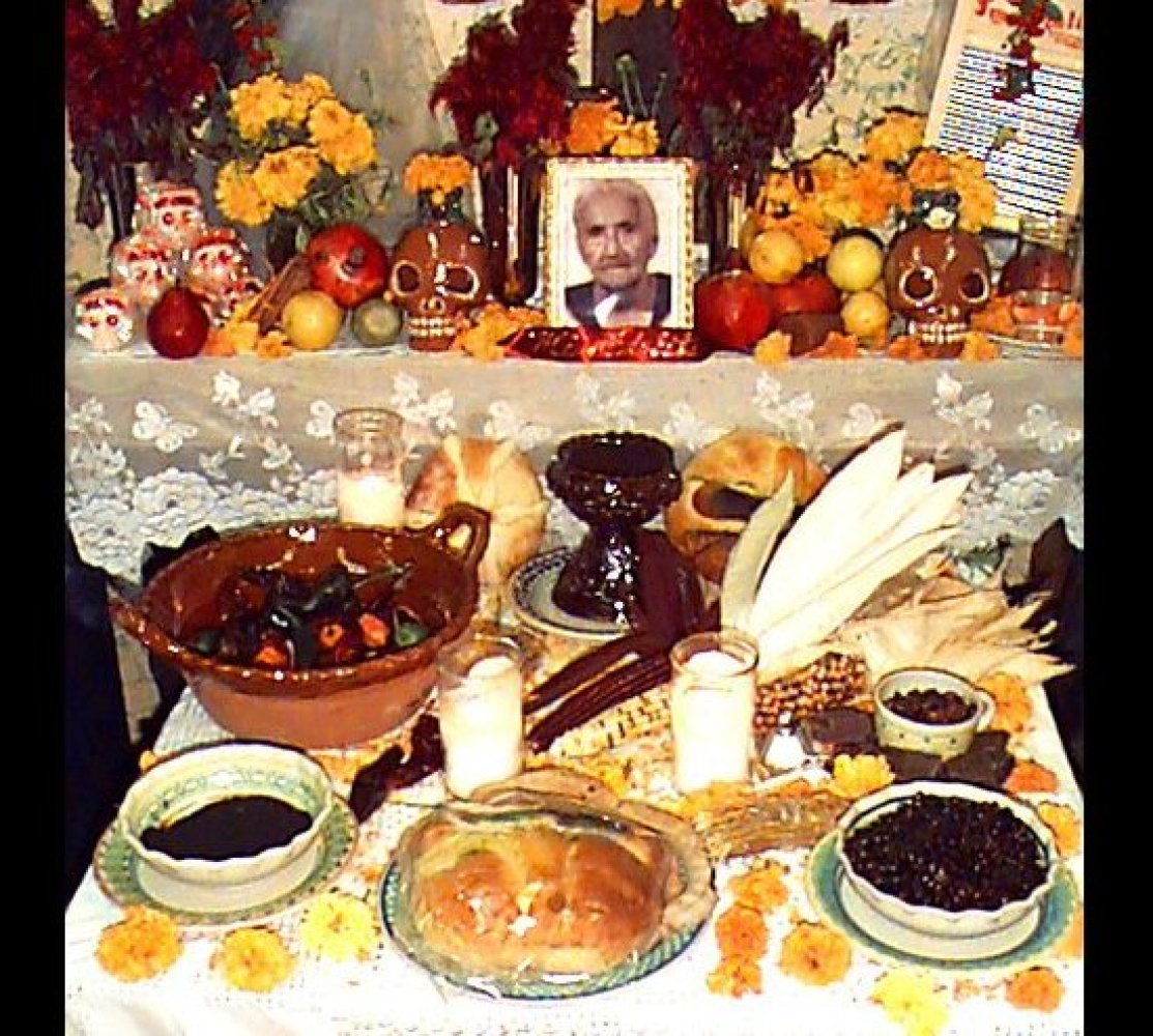 Many altars during Day of the Dead celebrations in Mexico and other Latin American countries include not only the favorite fo
