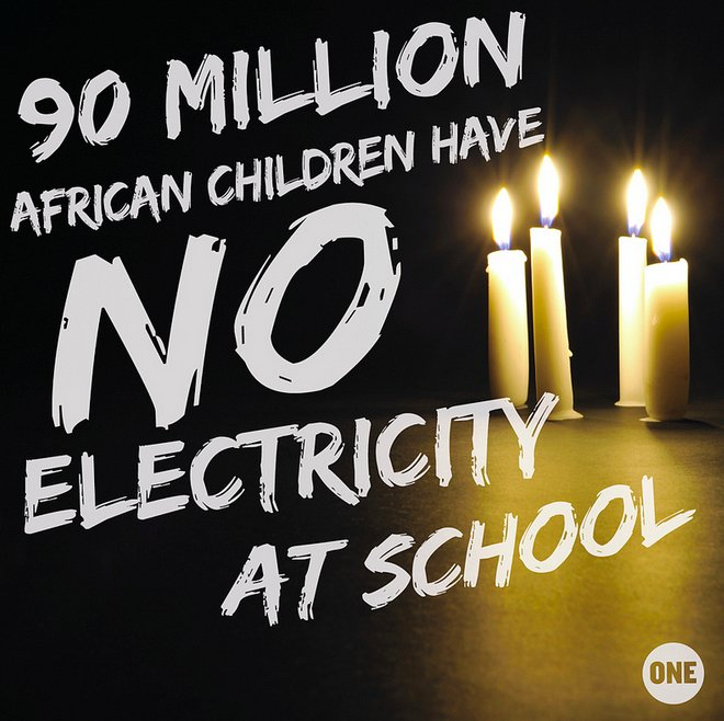 No electricity at school means no projectors or presentations in the classroom, no air conditioning or fans, and no night tim