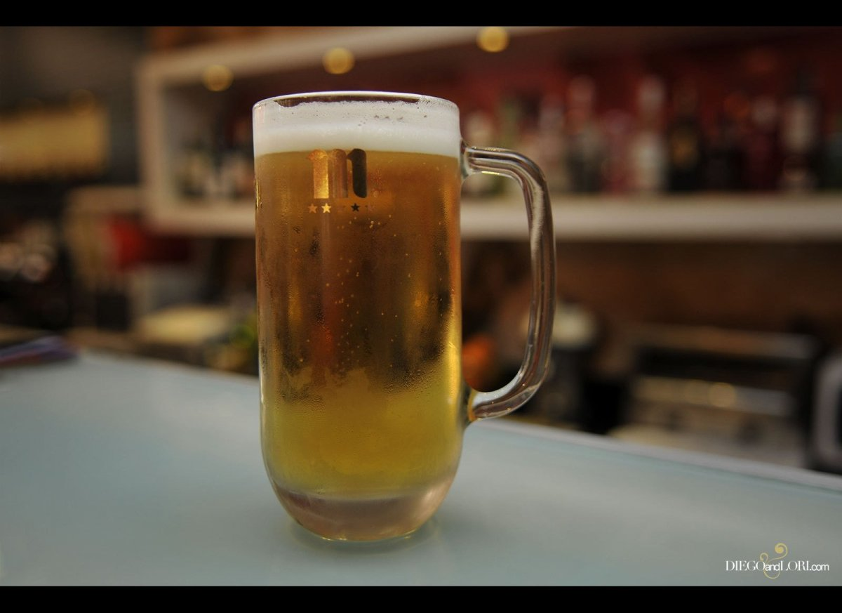 Order this draft beer by saying <em>¨una jarra¨</em> (har'-rah), which is usually about a pint and larger than a typical 7-8