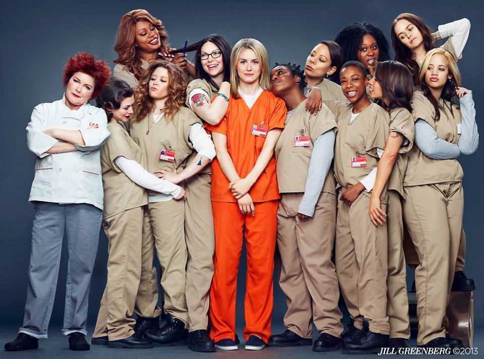 Getting busted for drug-related offences is no laughing matter ... unless you're Piper Chapman (played by Taylor Schilling).