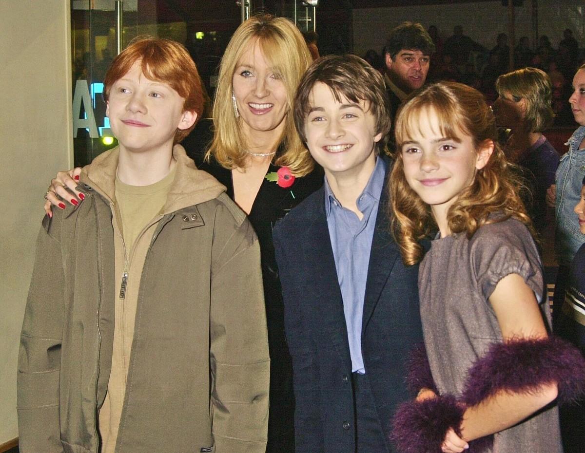 Фото джоан роулинг и ее детей
