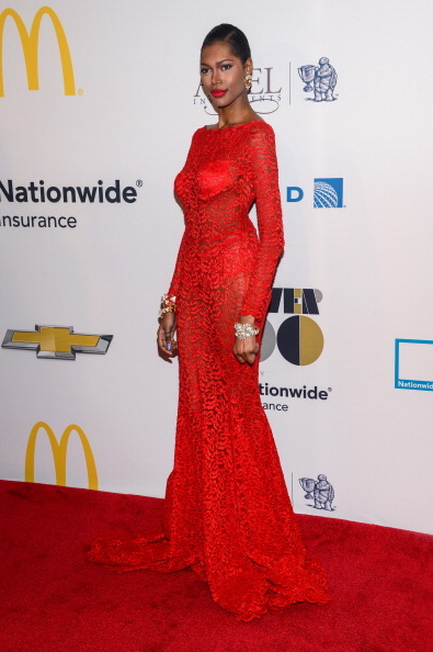 NEW YORK, NY - NOVEMBER 04: Model Jessica White attends the 2013 EBONY Power 100 List Gala at Frederick P. Rose Hall, Jazz at