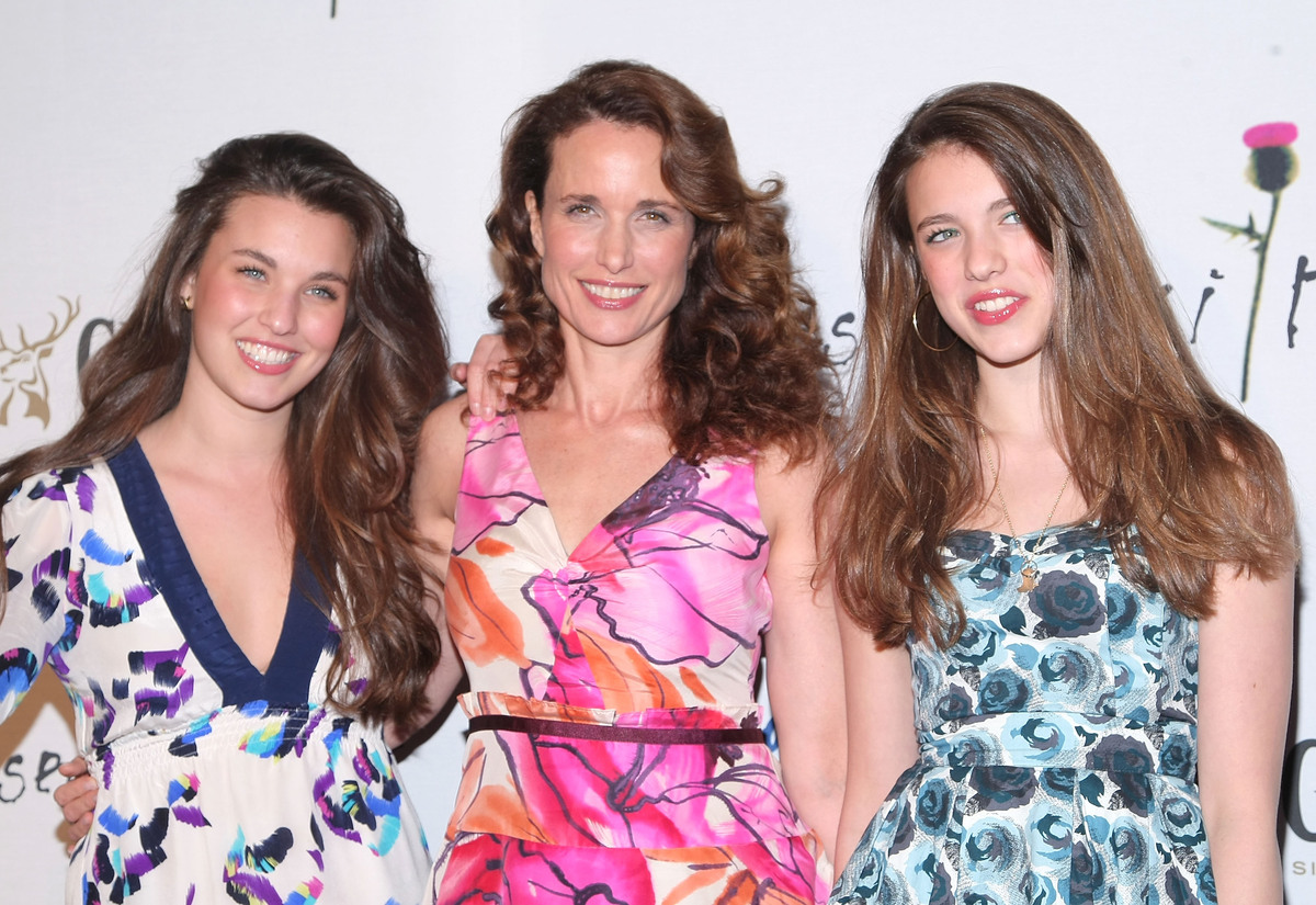 """Actress and model, <a href=""""http://www.townandcountrymag.com/society/tradition/andie-macdowell-interview"""" target=""""_blank"""">And"""