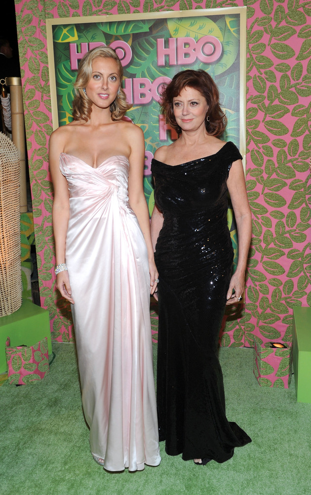 Academy Award winning actress, Susan Sarandon, has two sons, and a daughter, Eva Amurri (left).   Her youngest son, Miles, le