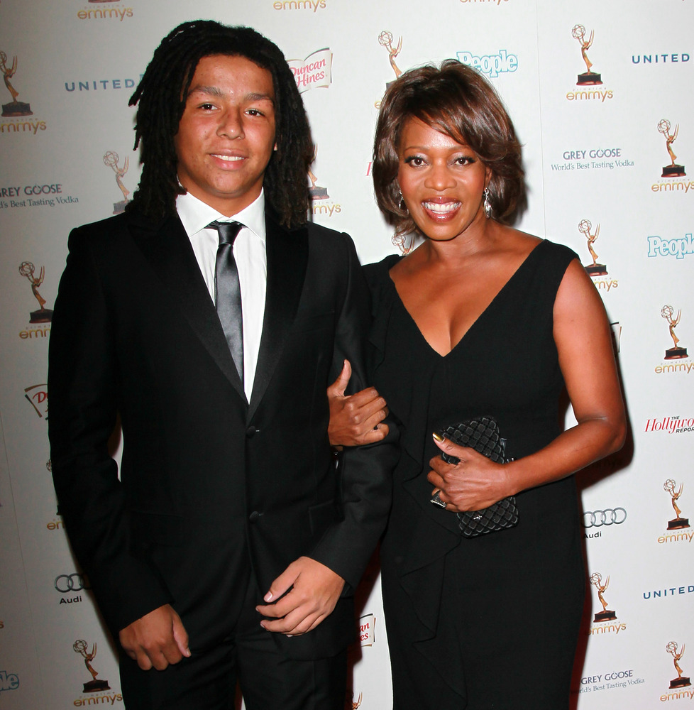 Actress Alfre Woodard struggled with her empty nest last year when her son, Duncan (left), and daughter Mavis left home. Wood