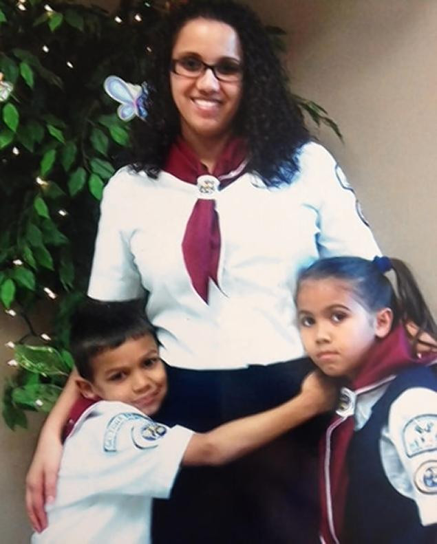 Police in Florida are trying to locate 28-year-old Yessenia Suarez and her two children, Thalia Otto, 9, and Michael Otto, 8.