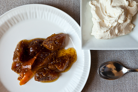 """<strong>Get the <a href=""""http://food52.com/recipes/3700-drunken-honeyed-figs-with-lemon-mascarpone-whipped-cream"""" target=""""_bl"""