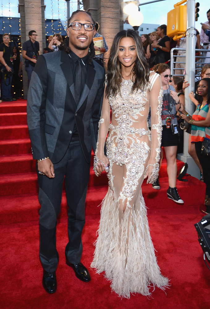 Ciara got engaged to rapper Future on Oct. 25, 2013.
