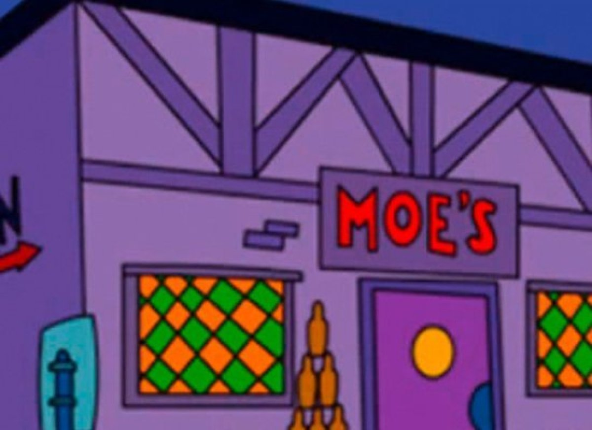 Pull up a stool and join Homer, Lenny, Carl and Barney for a pint of Duff Beer and a pickled egg at this Springfield bar. You