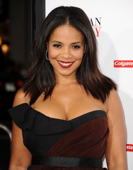 HOLLYWOOD, CA - NOVEMBER 05: Actress Sanaa Lathan attends the premiere of 'The Best Man Holiday' at TCL Chinese Theatre on No