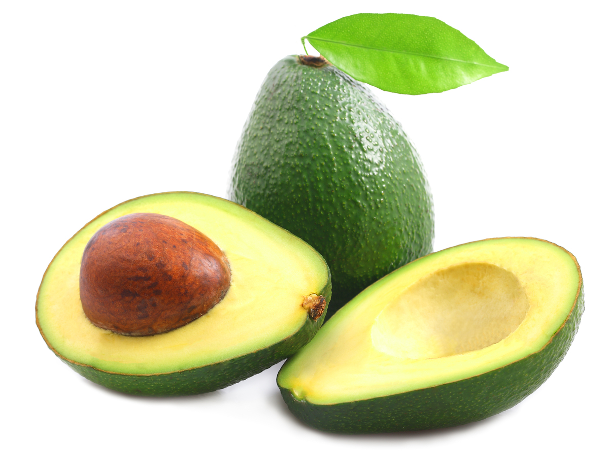 Thanks to their thick, scaly skin, the pesticides used on avocados don't make their way into the flesh we love in guacamole,