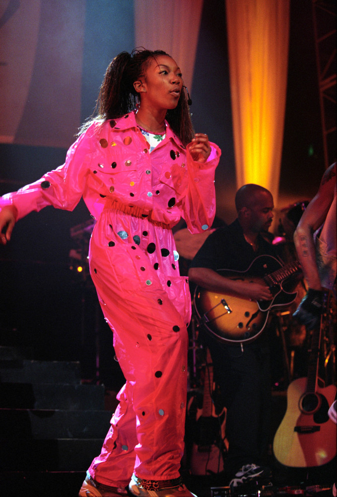 Brandy was surprised to walk onstage in South Africa to a crowd of 40 in the 90,000-capacity FNB Stadium. It wasn't a total i