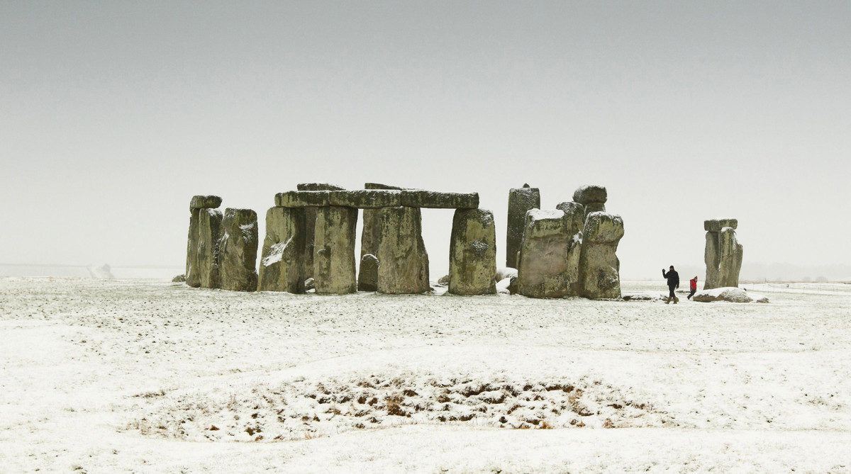 <strong>Exhibit C</strong>: Stonehenge    (AP Photo/PA, Chris Ison)