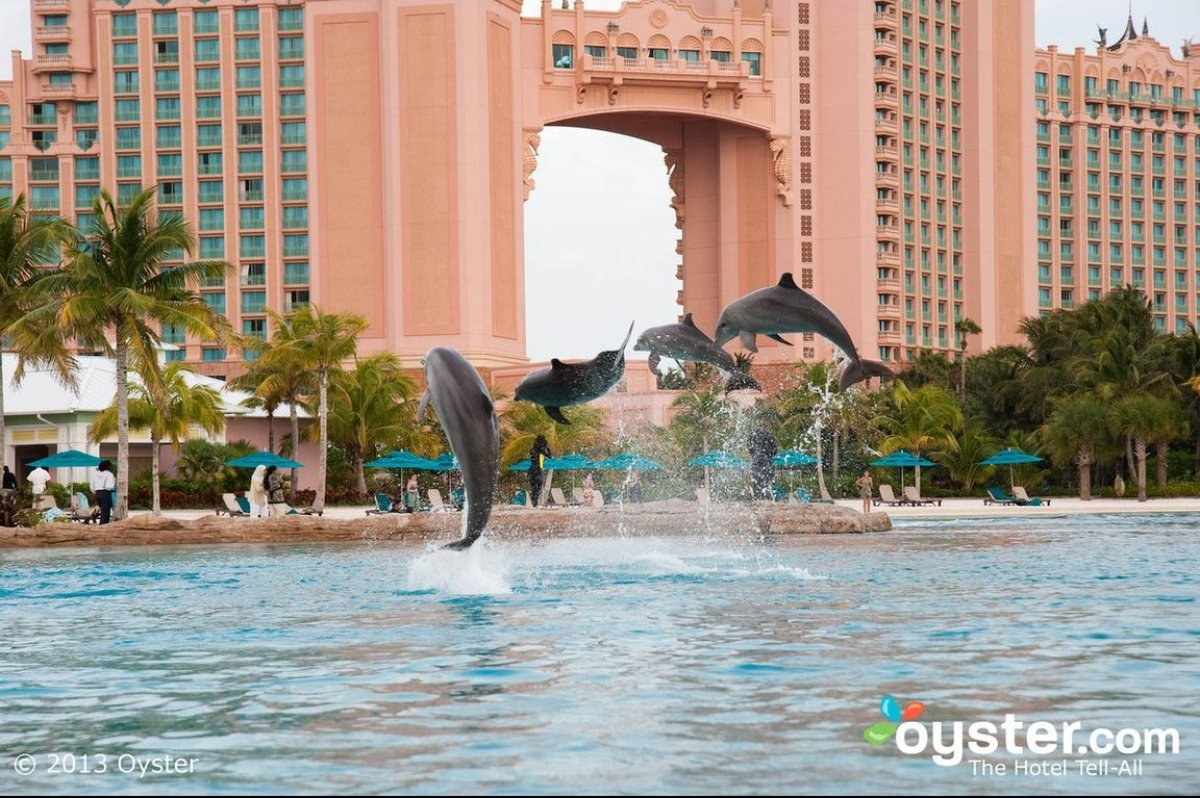 "Brimming with activities for kids and teens, <a href=""http://www.oyster.com/bahamas/hotels/atlantis-paradise-island-resort/"""