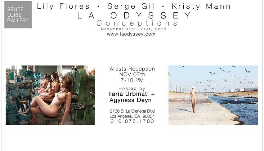"<strong>SEE <em>L<a href=""http://www.laodyssey.com/"" target=""_hplink"">.A. Odyssey</a>: Conceptions</em> Artists Reception</st"