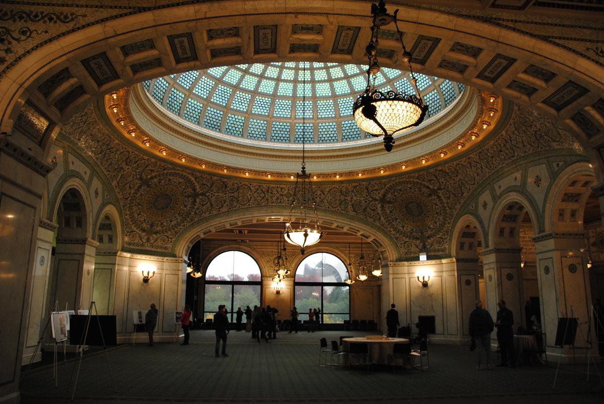 "<em>78 E. Washington St.</em><br> The Cultural Center offers <a href=""http://www.cityofchicago.org/city/en/depts/dca/supp_inf"