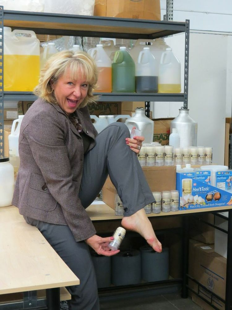 For Melinda Clark, a busy mother of two, the problem of rough, scratchy heels had plagued her since she was young. No amount