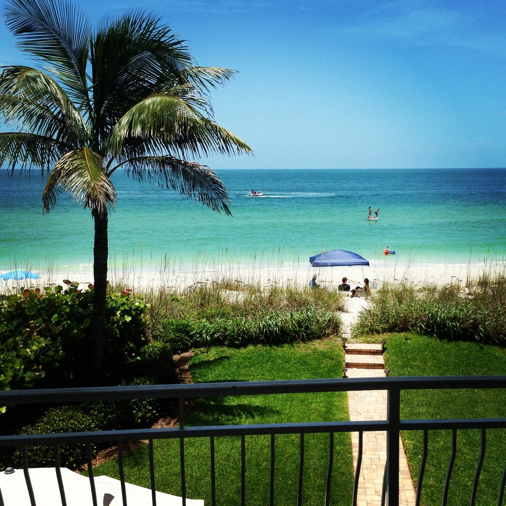 Growing up in Florida, my favorite way to escape was going to the beach. It's the perfect place to clear your head and relax.