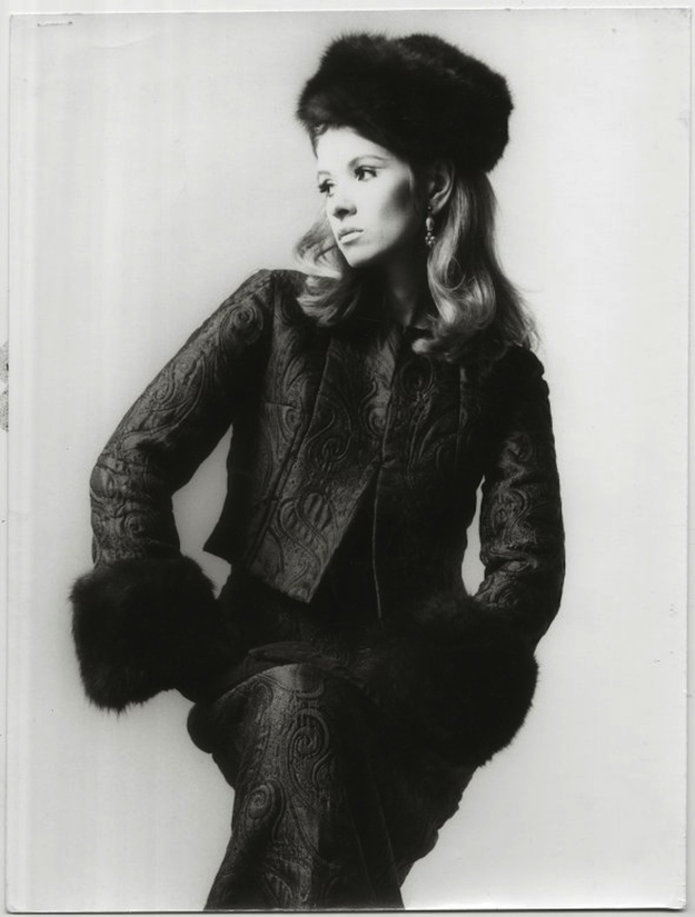 A photo from Martha Stewart's early modeling days in the 1960's -- she looks stunning!