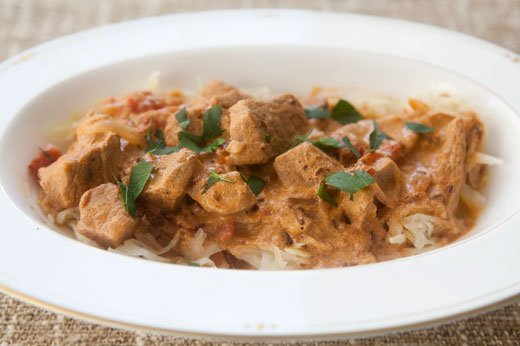 "<strong>Get the <a href=""http://www.simplyrecipes.com/recipes/veal_goulash_with_sauerkraut/"" target=""_blank"">Veal Goulash wit"