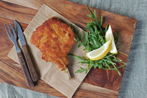 "<strong>Get the <a href=""http://food52.com/recipes/24412-cotoletta-alla-milanese"" target=""_blank"">Cotoletta alla Milanese rec"