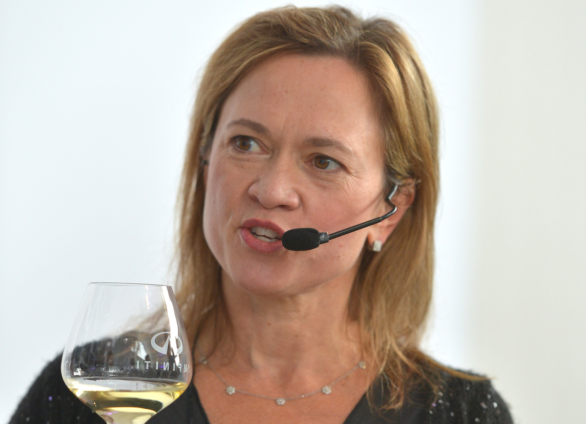 Master sommelier Andrea Robinson -- who took over the wine program at Delta Airlines in 2008 after a long tenure pouring wine