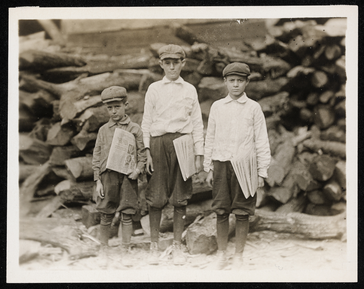 """""""The new child labor law making the willful employment of children under the age of fourteen years a misdemeanor.. will be fo"""