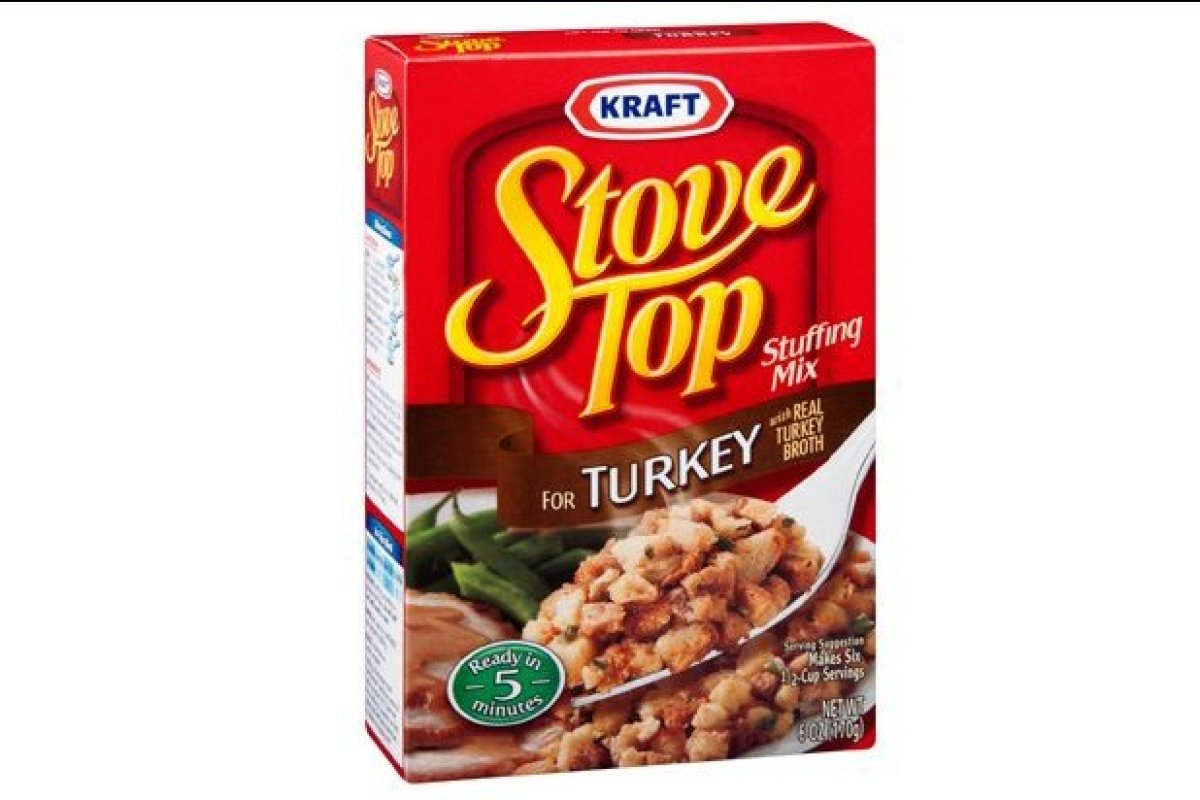 Stove Top came in second on our list. This reminded everyone of traditional stuffing and looked the most like homemade stuffi