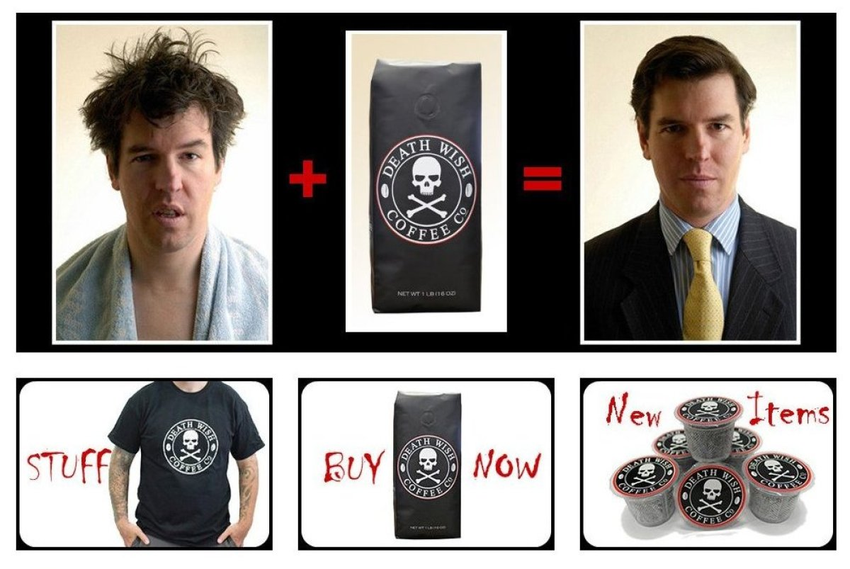 "<strong><a href=""http://deathwishcoffee.com"" target=""_hplink"">Death Wish Coffee</a></strong>, Food & Beverage