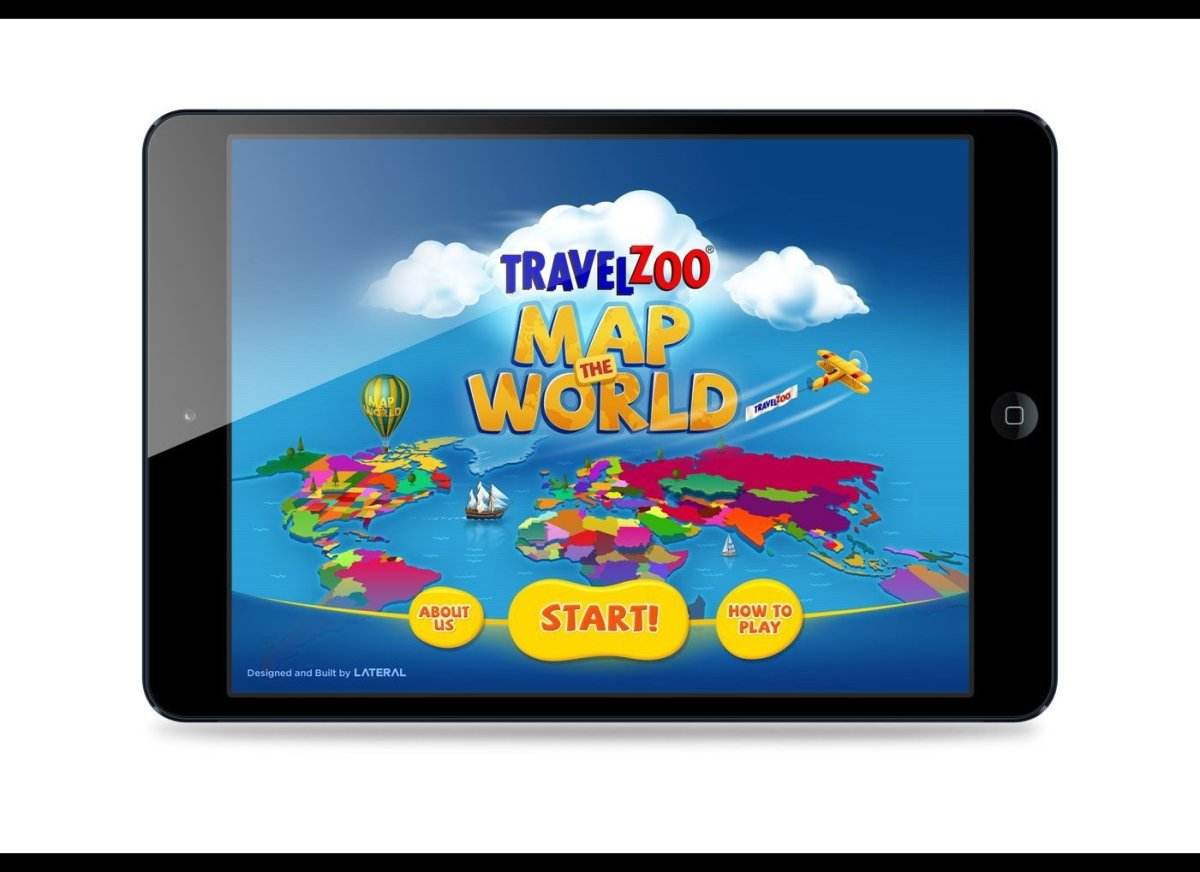 "Travelzoo has just launched ""Map the World"" -- a free iPad app to help give kids an in-depth view of the world.  Download it"