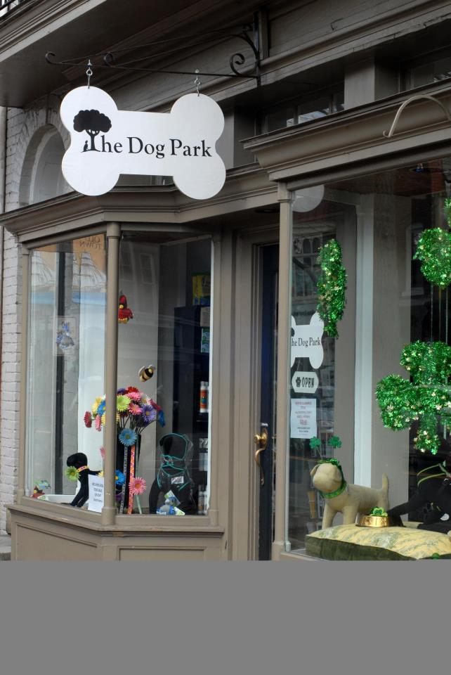 """On King Street in Old Town Alexandria, <a href=""""http://www.thedogparkva.biz/"""" target=""""_blank"""">The Dog Park</a> is stuffed ful"""